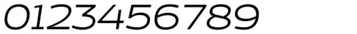 Cedra 4F Wide Light Italic Font OTHER CHARS