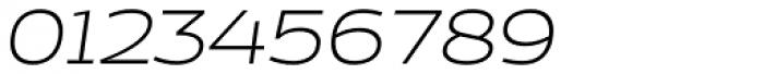 Cedra 4F Wide UltraLight Italic Font OTHER CHARS