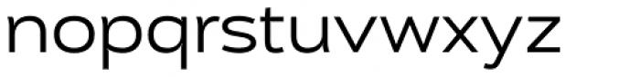 Cedra 4F Wide Font LOWERCASE