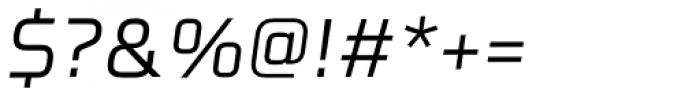 Celdum Italic Font OTHER CHARS