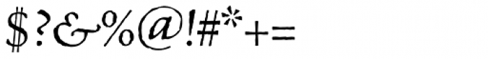 Celestia Antiqua Std Italic Font OTHER CHARS
