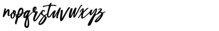 Celiya Script Regular Font LOWERCASE