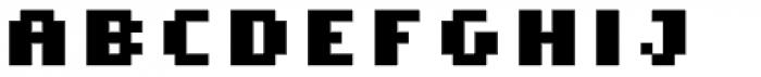 Cella Alfa Eight Five Bold Font UPPERCASE