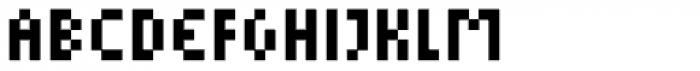 Cella Alfa Eight Five Comp Font UPPERCASE
