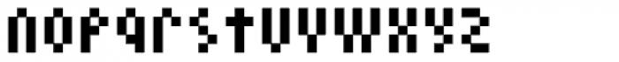 Cella Alfa Eight Five Comp Font LOWERCASE