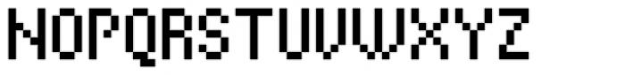 Cella Alfa Ten Seven Cond Font UPPERCASE