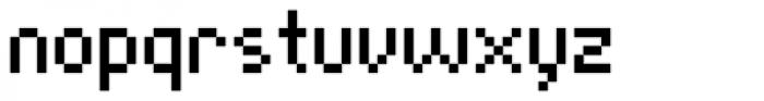 Cella Alfa Ten Seven Cond Font LOWERCASE