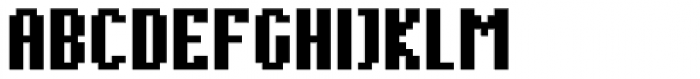 Cella Alfa Twelve Nine Comp Bold Font UPPERCASE