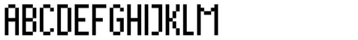 Cella Alfa Twelve Nine Comp Font UPPERCASE
