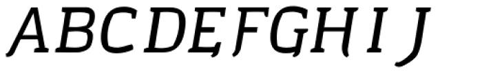 Cellar Barrel Italic Font UPPERCASE