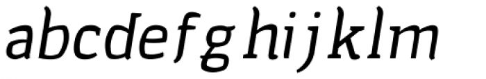 Cellar Barrel Italic Font LOWERCASE