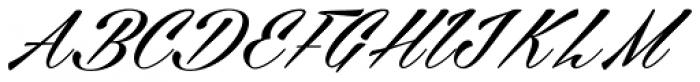 Cellos Script Font UPPERCASE