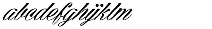 Cellos Script Font LOWERCASE