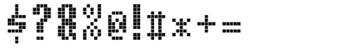 Cellular One Regular Font OTHER CHARS