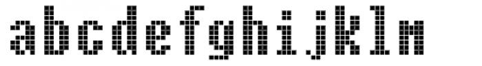 Cellular One Regular Font LOWERCASE