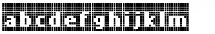 Cellular Three Menu Font LOWERCASE