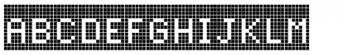 Cellular Two Menu Font UPPERCASE