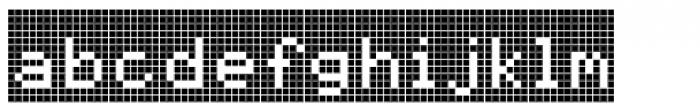 Cellular Two Menu Font LOWERCASE