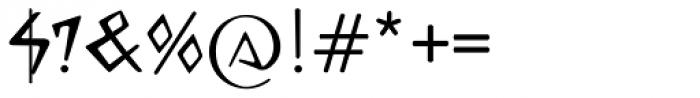 Celtiberica Font OTHER CHARS