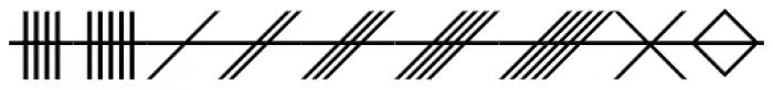 Celtic Astrologer Font UPPERCASE