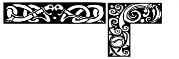 Celtic Borders Font OTHER CHARS