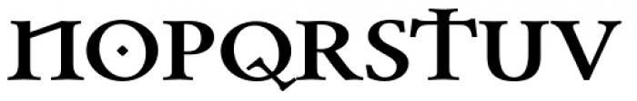 Celtic Garamond Pro Bold Font UPPERCASE