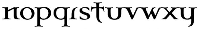 Celtic Garamond Pro Font LOWERCASE