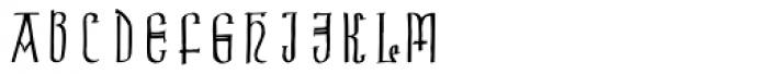 Celtic Initials Font UPPERCASE