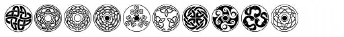 Celtic Ornaments BA Font OTHER CHARS