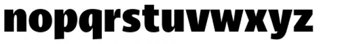 Cena Black Font LOWERCASE