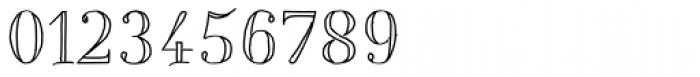 Centaurea Outline Font OTHER CHARS
