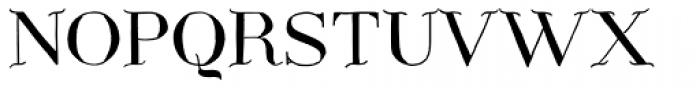 Centaurea Plain Font UPPERCASE