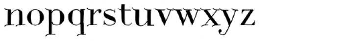 Centaurea Plain Font LOWERCASE