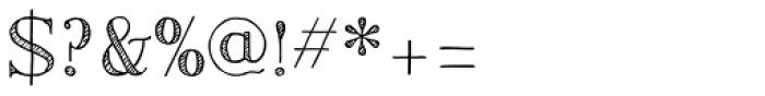 Centaurea Sketch Font OTHER CHARS
