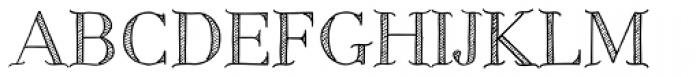 Centaurea Sketch Font UPPERCASE