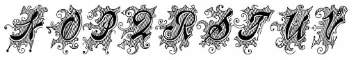 Centennial Script Fancy Font UPPERCASE