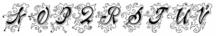 Centennial Script Fancy Font LOWERCASE
