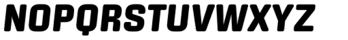 Center Black Italic Font UPPERCASE