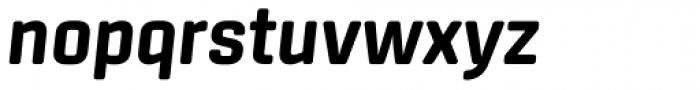Center Bold Italic Font LOWERCASE