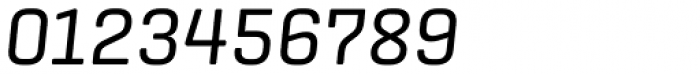 Center Italic Font OTHER CHARS