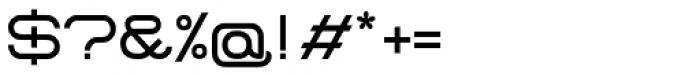 Center Screen Regular Font OTHER CHARS