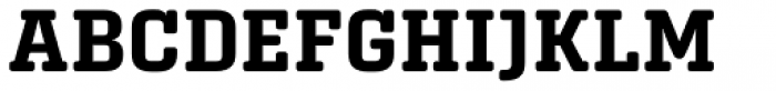 Center Slab Bold Font UPPERCASE
