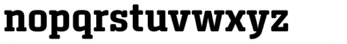 Center Slab Bold Font LOWERCASE