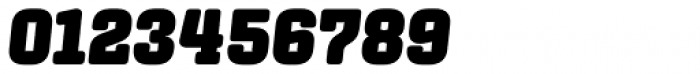 Center Slab Ultra Italic Font OTHER CHARS