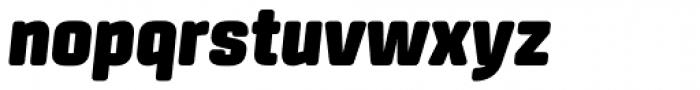Center Ultra Italic Font LOWERCASE