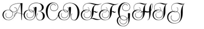 Centeria Script Fat Font UPPERCASE