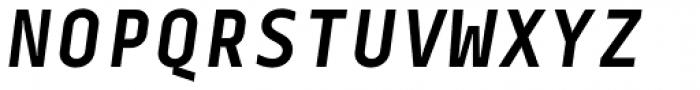 Centima Mono Bold Italic Font UPPERCASE