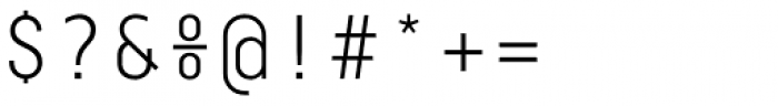 Centima Mono Light Font OTHER CHARS