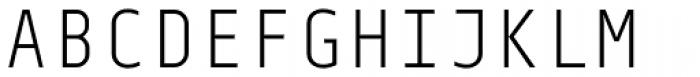 Centima Mono Light Font UPPERCASE