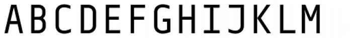 Centima Mono Font UPPERCASE